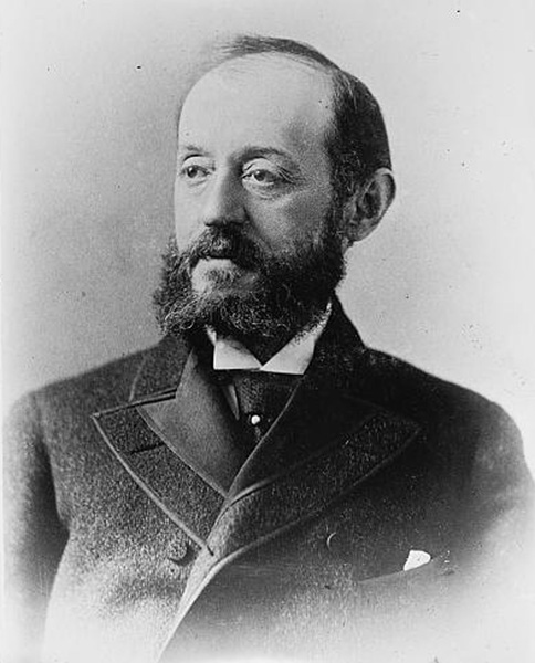 Portrait of Nathan Straus, ca. 1890s