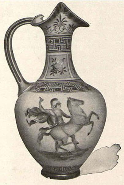 Vase, NY & Rudolstadt Pottery