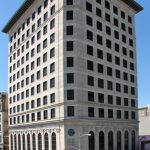 United States National Bank building in Galveston, TX