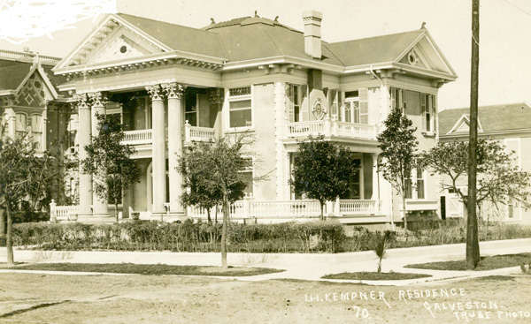I. H. Kempner Residence at 1502 Avenue J and Broadway, n.d.
