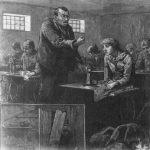 Male Boss and Female Sweatshop Employee, 1888