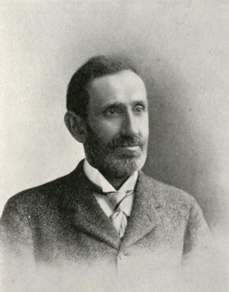 Simon Nelson Patten, ca. 1900