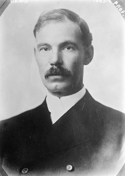 Edward A. Ross, undated portrait