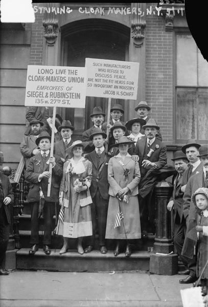 Cloak Makers' Strike, New York City, May 1, 1916