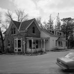 Worker cottage on the grounds of the August Schell Brewing Company, 1990