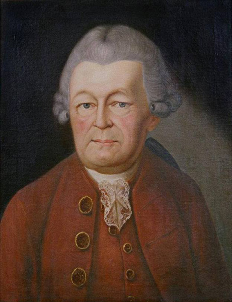 Painting of Peter Hasenclever, n.d.