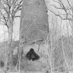 Ruins of a blast furnace in Allaire, Monmouth County, New Jersey