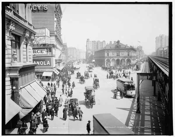 Herald Square, New York City, ca. 1903