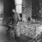The village blacksmith, ca. 1908