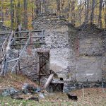 Ruins of a company store on the former American Company property in New Jersey.