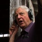 Record Producer Chris Strachwitz on location in New Orleans, n.d