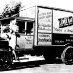 The Klein Chocolate Company delivery truck
