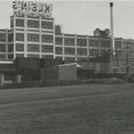The Klein Chocolate factory in the 1960s