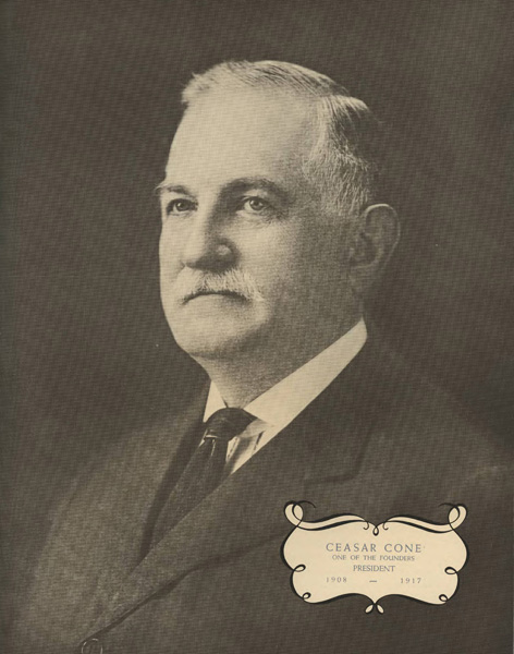Portrait of Ceasar Cone, n.d.
