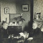 Herman and Helen Cone in their Baltimore Home, 1895