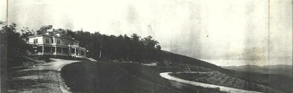 Flat Top Manor, Panoramic View, ca. 1900