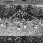 Festivities at Cone Mills, ca. 1925