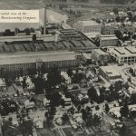 Aerial View of Proximity Mills, ca. 1941