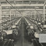 "Panoramic View of the ""Weave Shed"" at White Oak Mills, ca. 1941"