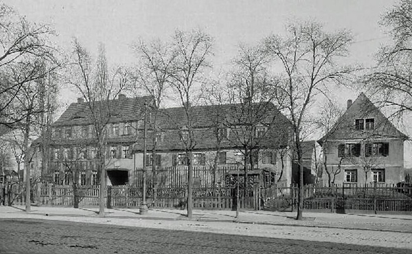 Birthplace of Karl Rudolf Brommy