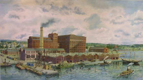 Federal Sugar Refining Co., Yonkers, early 1920s
