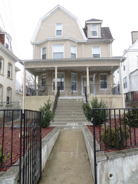 Walter and Gertrude Spreckels' house at 19 Cedar Place, Yonkers