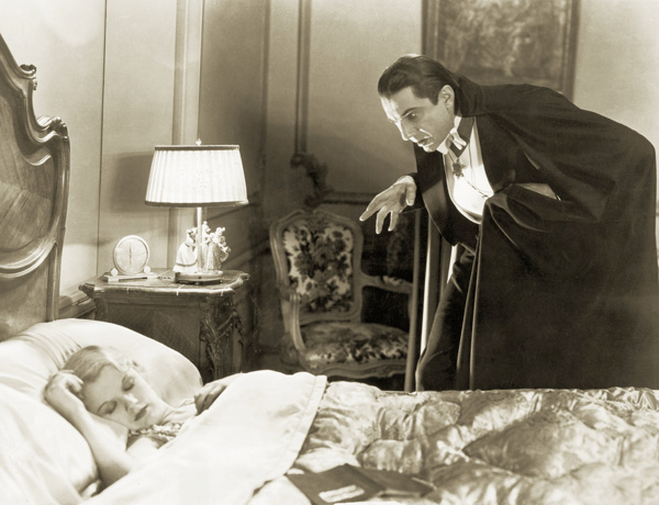 Helen Chandler and Bela Lugosi in Dracula
