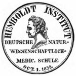 Seal of the Humboldt Institut, 1859