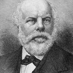 Portrait of German-American botanist Dr. George Engelmann