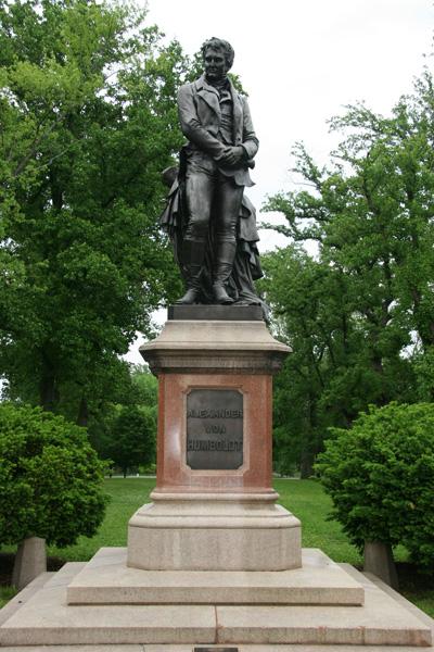 Alexander von Humboldt Statue, Tower Grove Park, St. Louis, MO