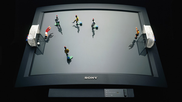 Sony Black Trinitron, 1985