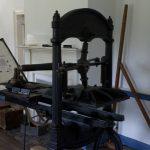 Harmonist printing press
