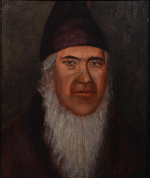 Painting of George Rapp, n.d.