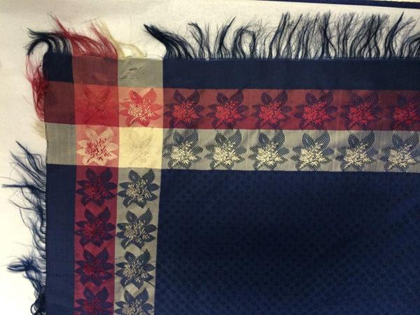Silk design by Gertrude Rapp