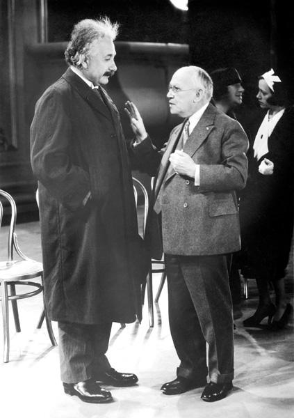 Albert Einstein and Carl Laemmle in Hollywood, 1931