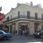 Vincent Nolte House at the corner of Royal and Toulouse Streets in New Orleans