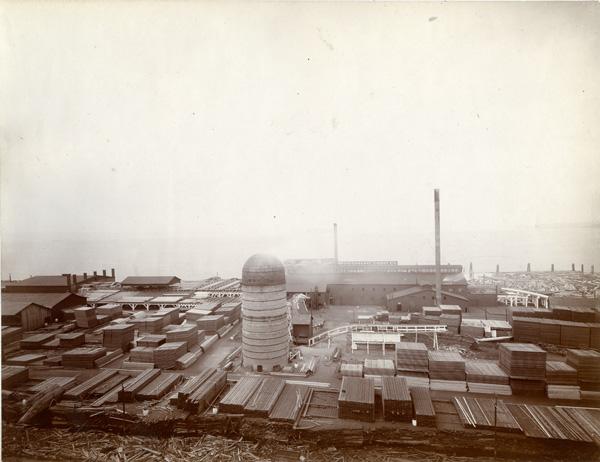 Weyerhaeuser Company Mill at Everett, Washington, ca. 1900