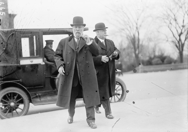 James J. Hill (left), 1911