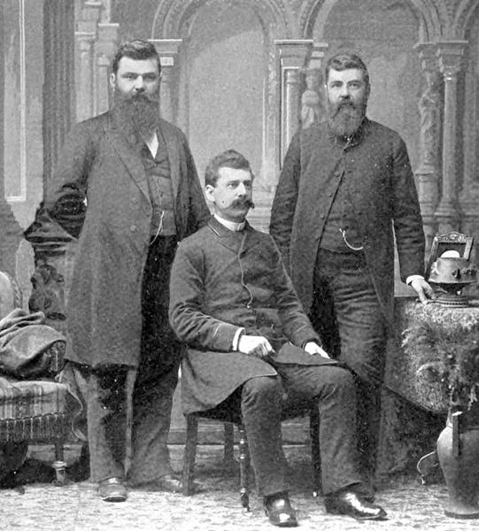 The Kleberg brothers, n.d.