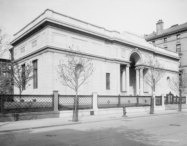 J. P. Morgan's Private Library, New York, NY, ca. 1908-1915