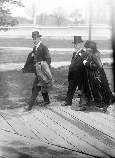 Jacob Schiff and his wife Therese, n.d.