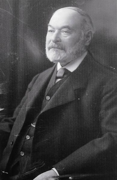 Photograph of Bernhard Nathan, F.W. Dorhmann's business partner, in 1913