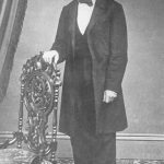 Photograph of F.W. Dohrmann in 1866