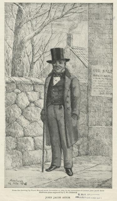 John Jacob Astor, Full Portrait