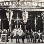 B. Nathan & Company, Kearny and Sacramento streets, ca. 1860s