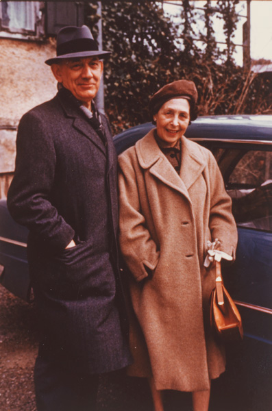Arnold and Lilli Bernstein, ca. 1965