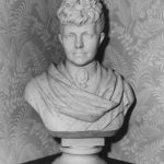 Marble bust of Marie Scheffer, 1885