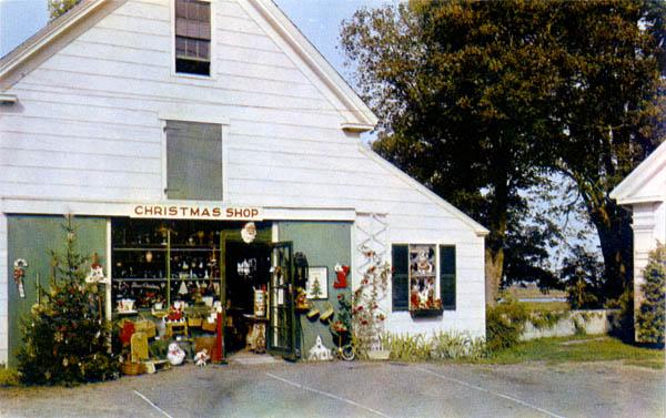 Curt Teich & Company, Inc., The Christmas Tree Shop, Yarmouth Port, Massachusetts, 1952