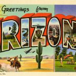Curt Teich & Company, Inc., Greetings from Arizona, 1939