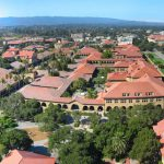 Stanford University campus aerial view, 2005